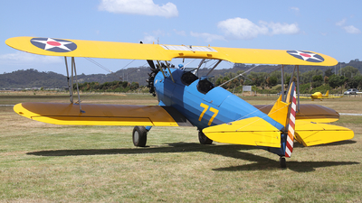 ZK-BOE - Boeing E75 Stearman - Private