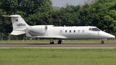 VH-AND - Bombardier Learjet 60 - Seletar Jet Charter