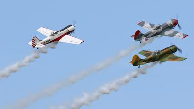 LY-AKU - Yakovlev Yak-50 - Kauno Aeroklubas