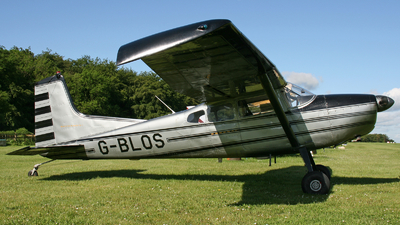 A picture of GBLOS - Cessna 185A Skywagon - [1850359] - © hjcurtis