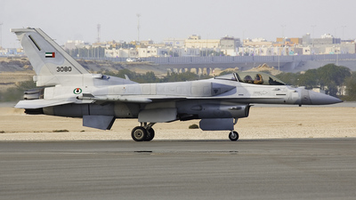 3080 - Lockheed Martin F-16C Fighting Falcon - United Arab Emirates - Air Force
