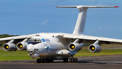 UP-I7601 - Ilyushin IL-76TD - Air Almaty