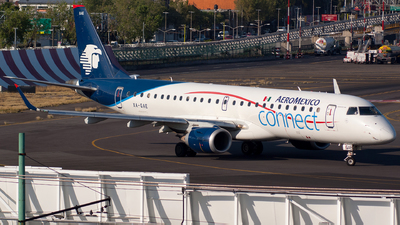 XA-GAE - Embraer 190-100LR - Aeroméxico Connect