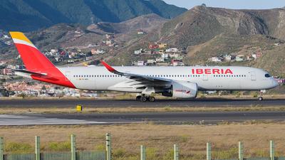 EC-MXV - Airbus A350-941 - Iberia
