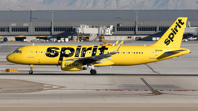 A picture of N643NK - Airbus A320232 - Spirit Airlines - © Yixin Chen