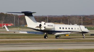 N523AC - Gulfstream G550 - Private