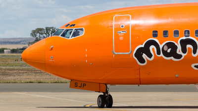 ZS-SJP - Boeing 737-8BG - Mango