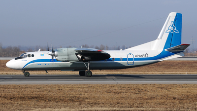 UP-AN423 - Antonov An-24RV - Scat Air Company