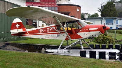HB-OPP - Piper PA-18 Super Cub - Private