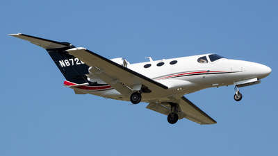 N872G - Cessna 510 Citation Mustang - Private