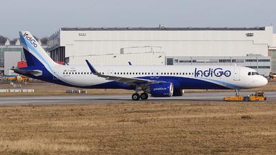D-AZAN - Airbus A321-251NX - IndiGo Airlines