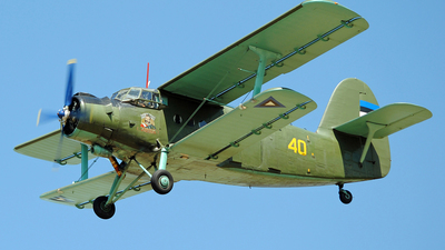 40 - Antonov An-2T - Estonia - Air Force