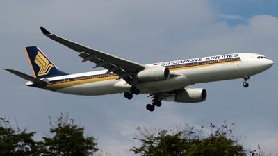 9V-STU - Airbus A330-343 - Singapore Airlines