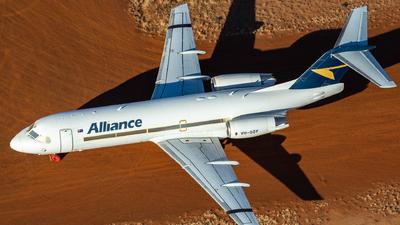 VH-QQY - Fokker 70 - Alliance Airlines
