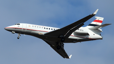 SU-BTU - Dassault Falcon 7X - Egypt - Government