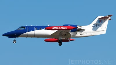 LX-TWO - Gates Learjet 35A - Luxembourg Air Ambulance