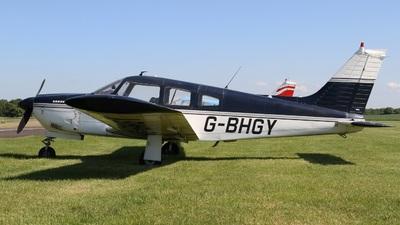 G-BHGY - Piper PA-28R-200 Cherokee Arrow II - Private