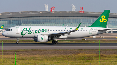 A picture of B30D5 - Airbus A320251N - Spring Airlines - © FIWH