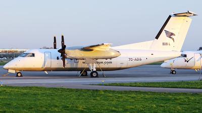 7O-ADS - Bombardier Dash 8-102A - Blue Bird Aviation