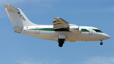 M-STRY - British Aerospace Avro RJ70 - Formula One Management