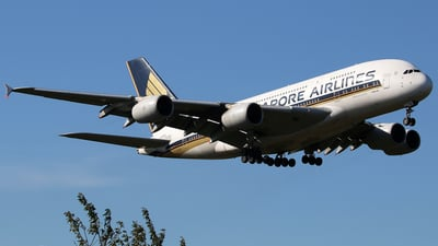 A picture of 9VSKN - Airbus A380841 - Singapore Airlines - © Brian T Richards