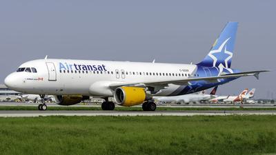 C-GCKR - Airbus A320-212 - Air Transat