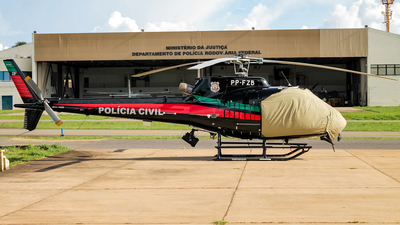 PP-FZB - Aérospatiale AS 350B2 Ecureuil - Brazil - Military Police of the Federal District