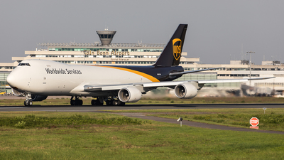 A picture of N627UP - Boeing 7478 - UPS - © Oliver Sänger