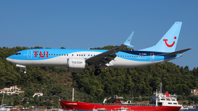 A picture of GTUMO - Boeing 737 MAX 8 - TUI fly - © Dave Potter