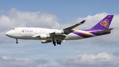 HS-TGJ - Boeing 747-4D7(BCF) - Thai Cargo