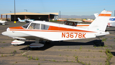 N3678K - Piper PA-28-140 Cherokee - Private