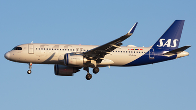 A picture of SEROX - Airbus A320251N - SAS - © Andrea Spoladore