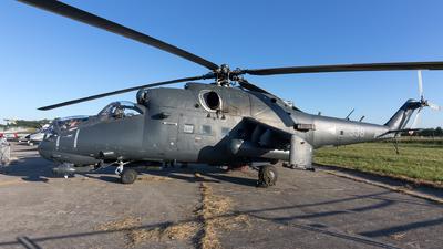 338 - Mil Mi-24P Hind F - Hungary - Air Force
