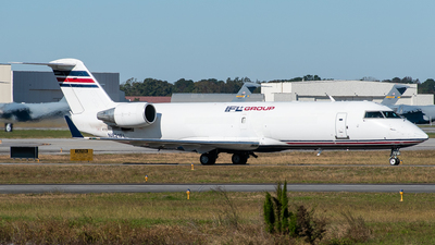 A picture of N821FL - Mitsubishi CRJ200SF - IFL Group - © Devin   Charleston Spotter