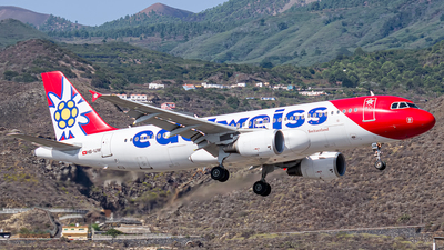 A picture of HBIJW - Airbus A320214 - Edelweiss Air - © Photography  Jc  la Palma