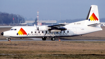 G-JEAI - Fokker F27-500 Friendship - Jersey European Airways
