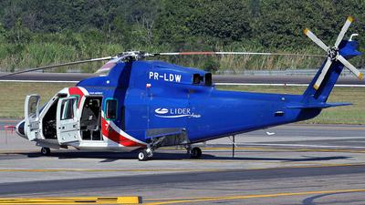 PR-LDW - Sikorsky S-76C - Líder Táxi Aéreo