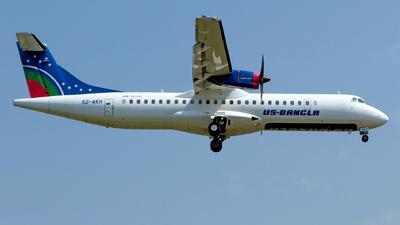 A picture of S2AKH - ATR 72600 - USBangla Airlines - © M. Azizul Islam