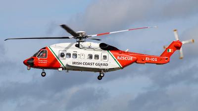 EI-ICG - Sikorsky S-92A Helibus - Ireland - Coast Guard