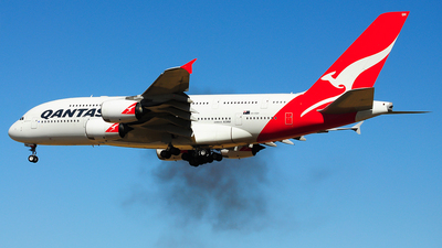 VH-OQH - Airbus A380-842 - Qantas