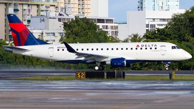A picture of N306SY - Embraer E175LR - Delta Air Lines - © Marcos Perez Sanchez