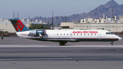 N7291Z - Bombardier CRJ-200LR - America West Express (Mesa Airlines)