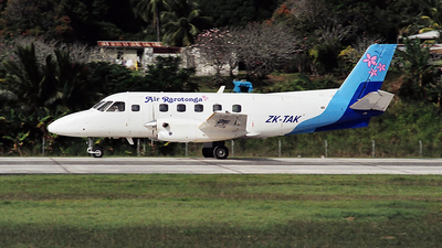 ZK-TAK - Embraer EMB-110P1 Bandeirante - Air Rarotonga