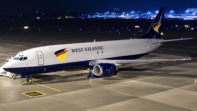 G-NPTX - Boeing 737-4C9(SF) - West Atlantic Airlines