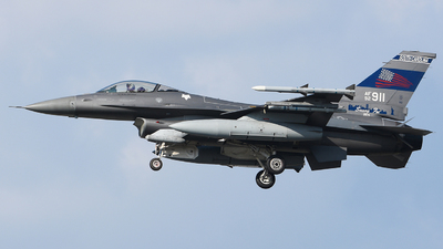 92-3911 - Lockheed Martin F-16CM Fighting Falcon - United States - US Air Force (USAF)