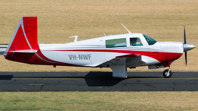 A picture of VHNWF - Mooney M20J - [240587] - © Dallas Presser