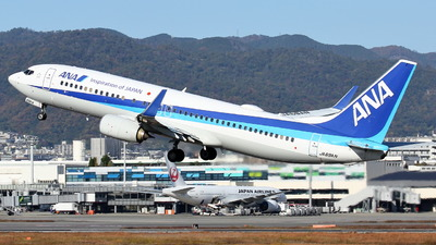 A picture of JA69AN - Boeing 737881 - All Nippon Airways - © Tokubee