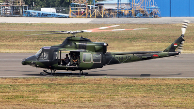 HA-5163 - Bell 412EP - Indonesia - Army