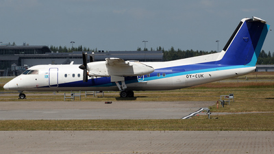 OY-CUK - Bombardier Dash 8-314 - Nordic Aviation Capital (NAC)
