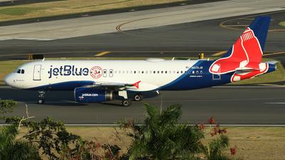N605JB - Airbus A320-232 - jetBlue Airways